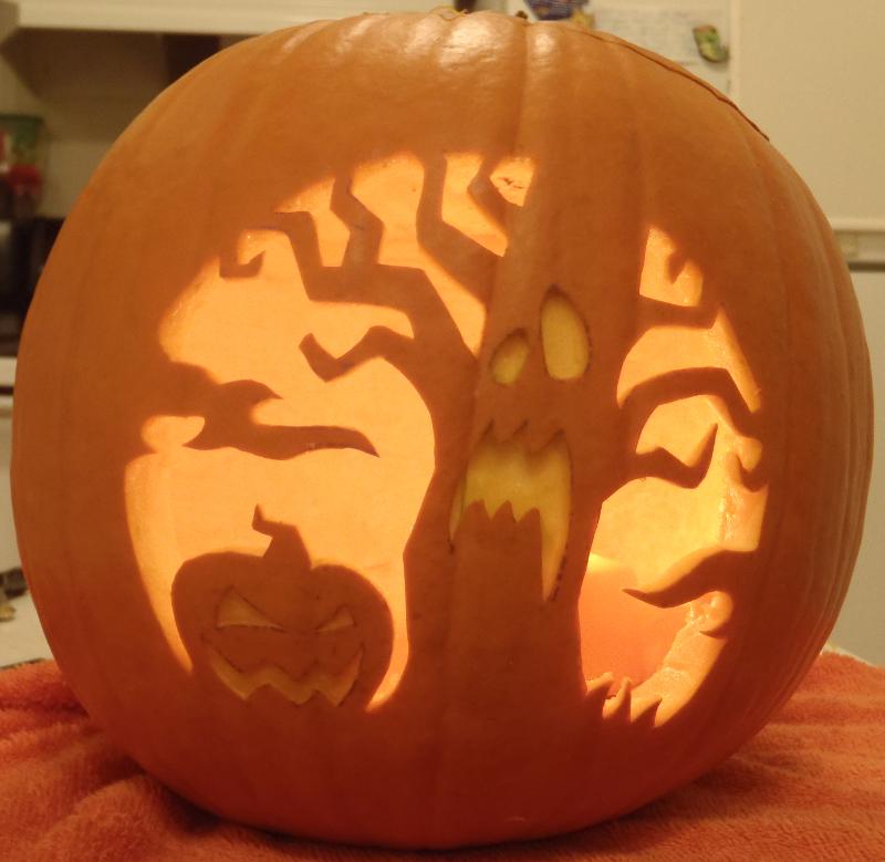 The spooky tree light by johwee on deviantart