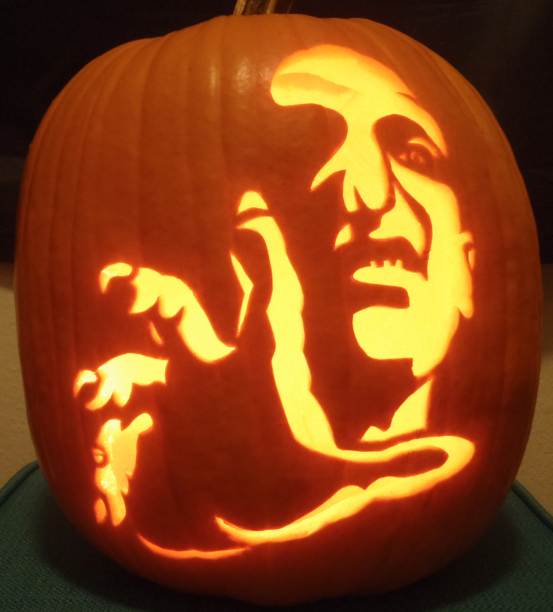 Voldemort pumpkin light by johwee on deviantart