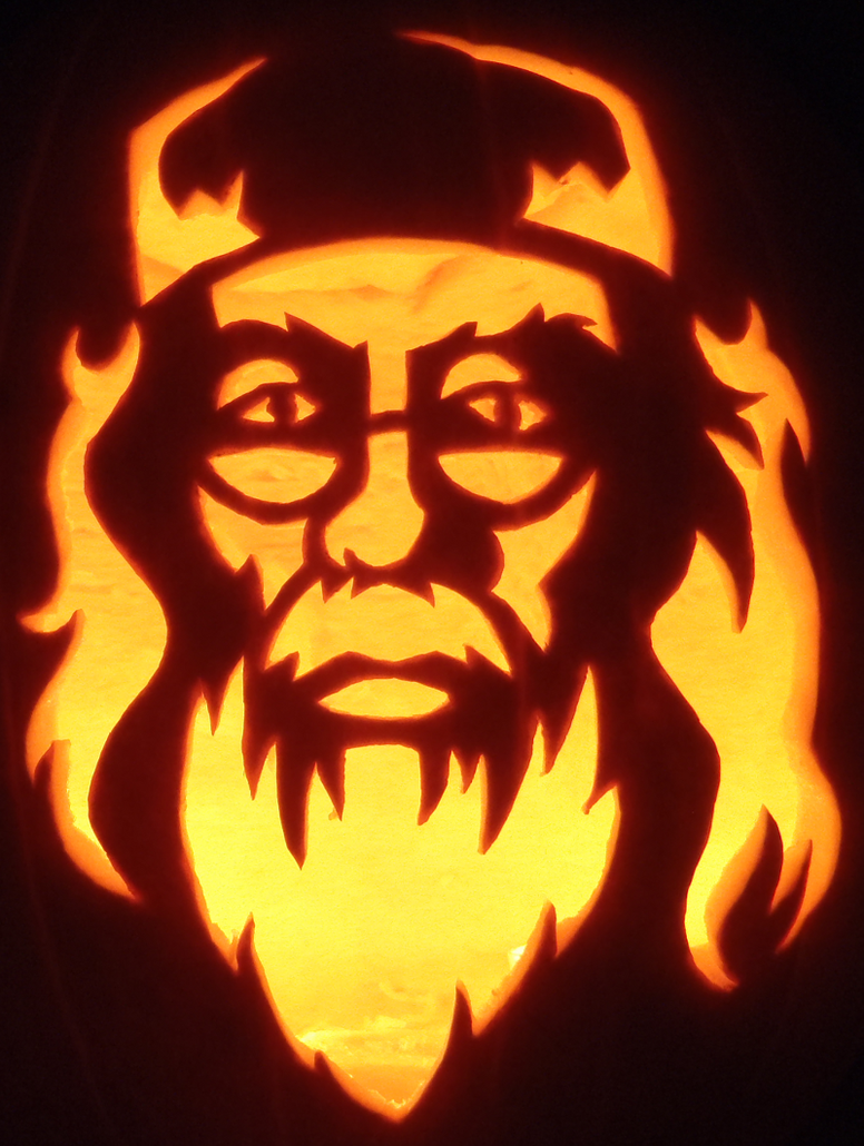Hogwarts Headmaster Pumpkin by johwee
