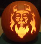 Dumbledore Pumpkin Light