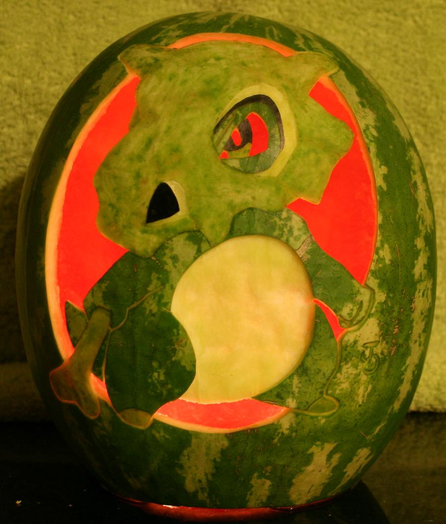 Cubone Watermelon Light by johwee on DeviantArt