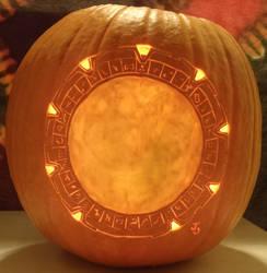 Staaaaaaaaaaaaargaaaaaaaate Pumpkin Light Version by johwee
