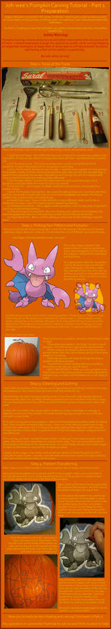 Pumpkin Carving Tutorial - Part 1