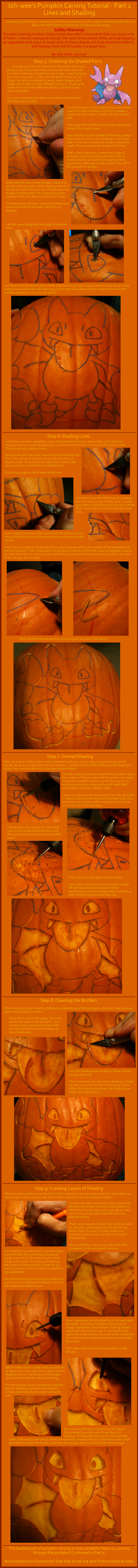 Pumpkin carving tutorial part 2 by johwee on deviantart for Pumpkin sculpting tutorial