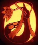 Princess of the Sea - Milotic Pumpkin