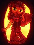Pumpkin of Wisdom - Princess Zelda