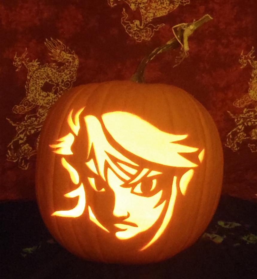Link pumpkin light version by johwee on deviantart