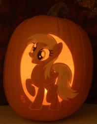 Derpy Hooves Pumpkin Light Version