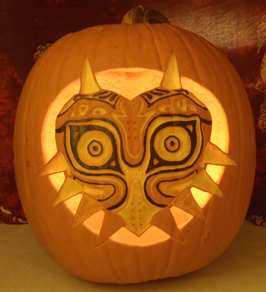 Majora's Mask Pumpkin Light Version by johwee