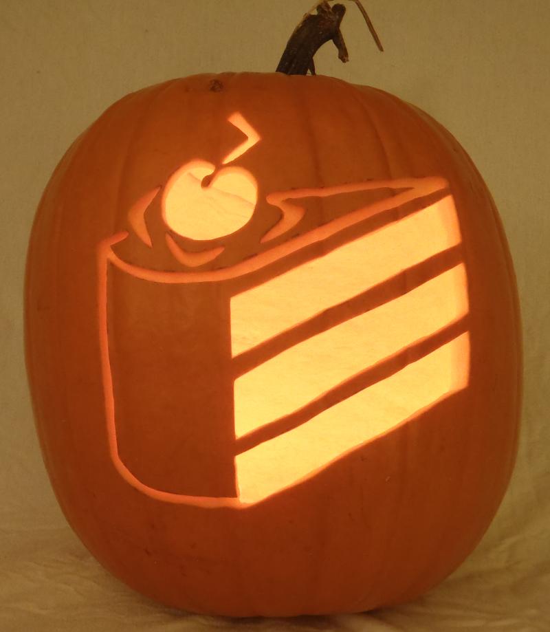 Cake Pumpkin Light