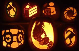 Portal Pumpkin Madness by johwee