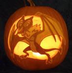 Noivern Pumpkin Light Version