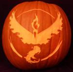 Team Valor Pumpkin