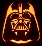 Star Wars: Darth Vader Pumpkin by johwee