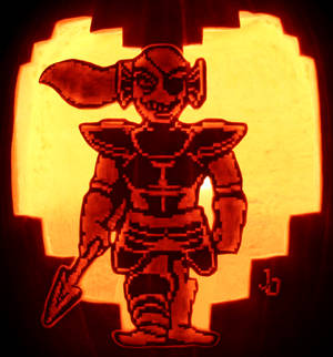 Just Because She Can - Undyne Pumpkin