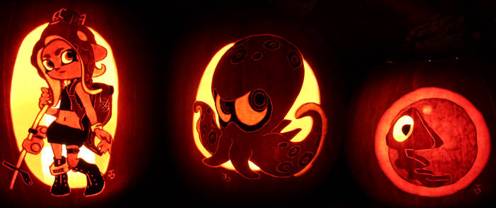 Splatoon 2 - Octo Expansion Pumpkins