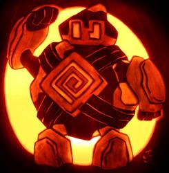 Golett - Automaton Pumpkin