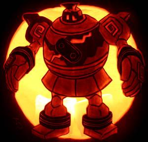 Golurk - Bigger Automaton Pumpkin