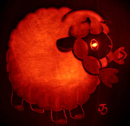 Ultimate Roundness - Wooloo Pumpkin