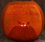 Return of Ganon Pumpkin Light Version