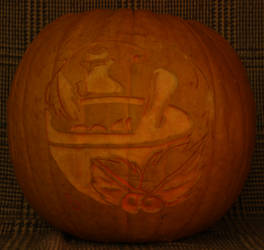 Alfyn's Emblem Pumpkin Light Version