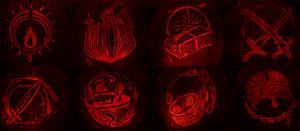 Heroes of Orsterra - Octopath Traveler Pumpkins