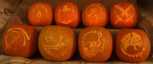Octopath Traveler Pumpkins Light Version