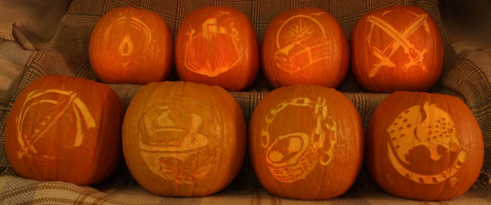 Octopath Traveler Pumpkins Light Version