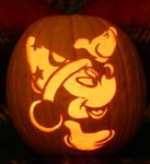 Mickey Pumpkin Light Version