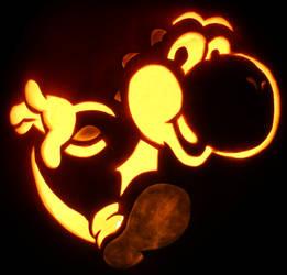 The Yosh-man- Yoshi Pumpkin