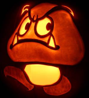 First Foe- Goomba Pumpkin