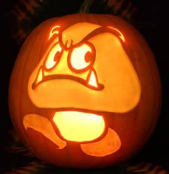 Goomba Pumpkin Light Version