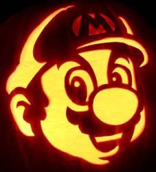Wahoo! - Mario Pumpkin