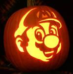 Mario Pumpkin Light Version