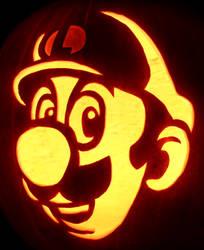Luigi's Number One! - Luigi Pumpkin