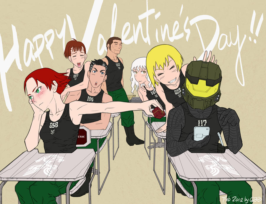 Happy Valentine's Day 2012 by GRANDBigBird