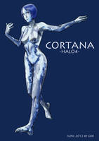 Halo4 Cortana by GRANDBigBird
