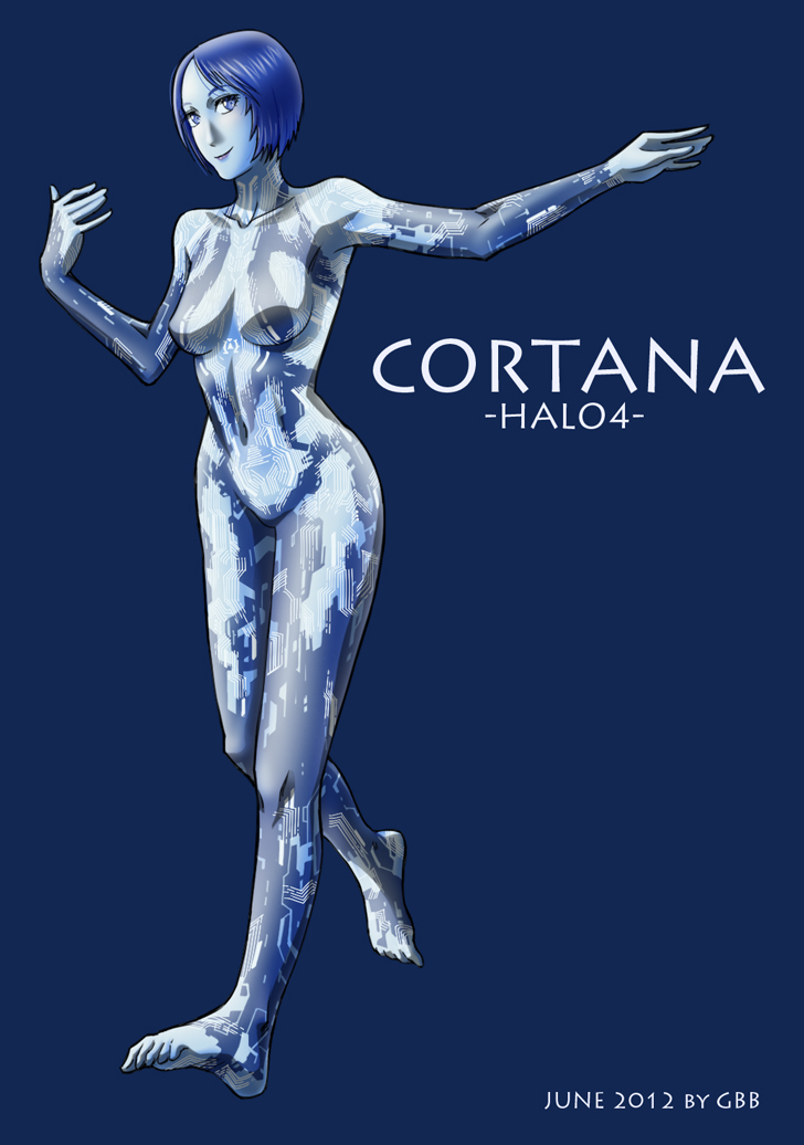 Halo4 Cortana by GRANDBigBird