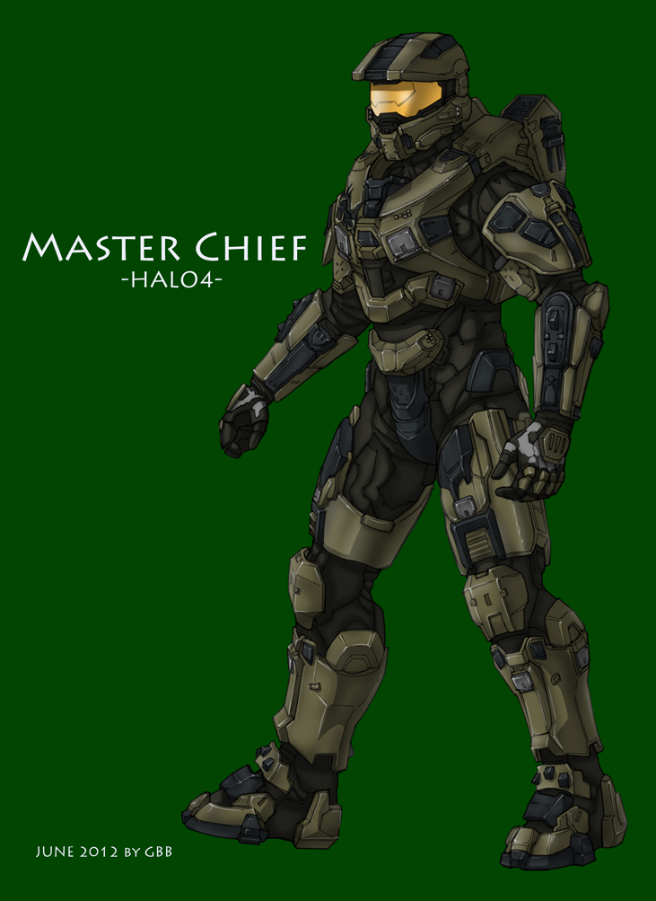 Halo 4 Master Chief by GRANDBigBird