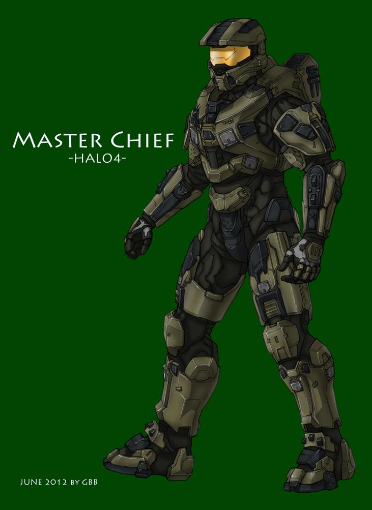 Halo 4 Master Chief by GRANDBigBird
