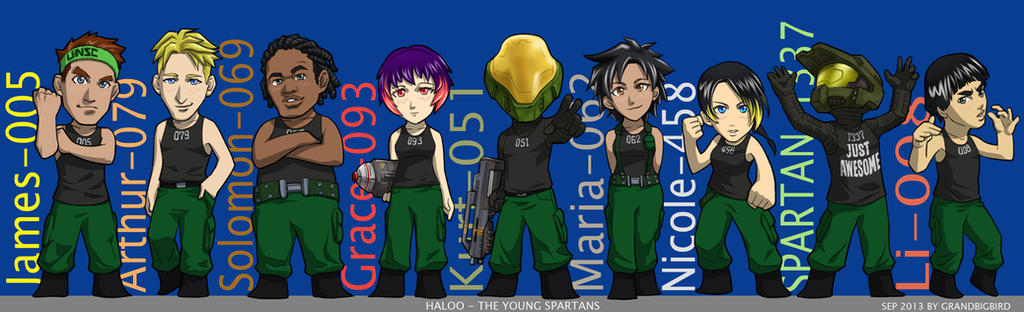 The Young Spartans Part2 by GRANDBigBird
