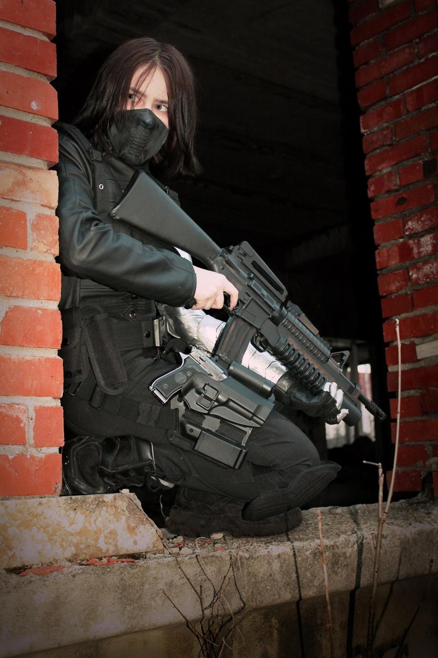 Winter Soldier Cosplay by writersoldier