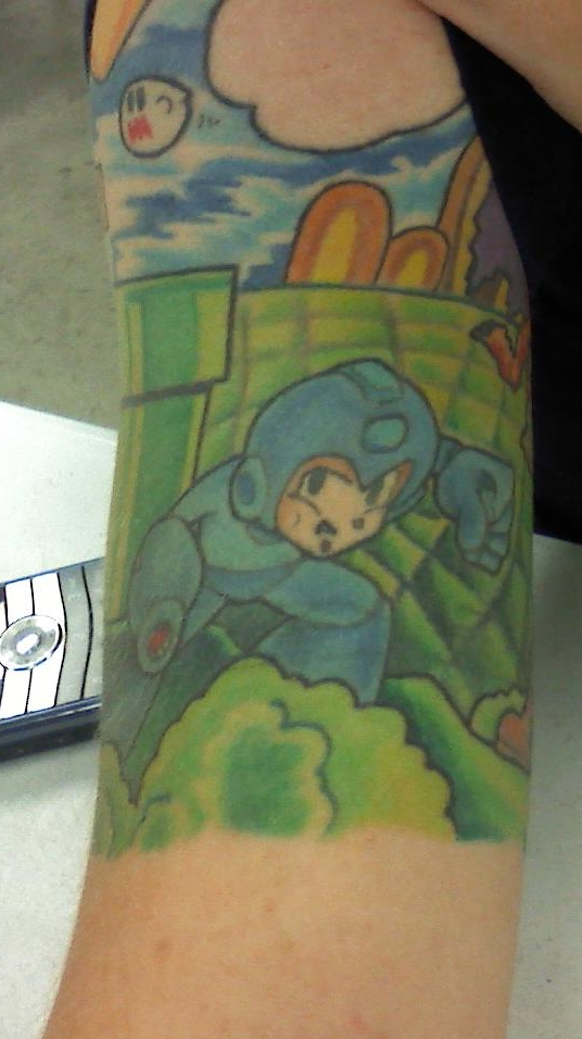 sonic tattoo. Mega Man Tattoo by ~SonicRose