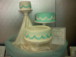 Wedding Cake Display for March by SonicRose