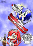 SonicCola vs Pepsi Knuckles by SonicRose