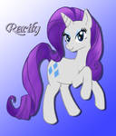 Miss Rarity to you by SonicRose