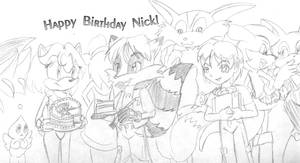 HAPPY BIRTHDAY NICK by SonicRose