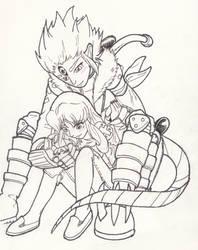 Negami and Beelzemon