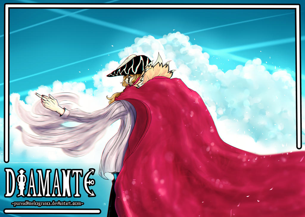 Diamante ONE PIECE -Finished- by Pureadimelograno
