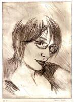 Self portrait by Kalmia